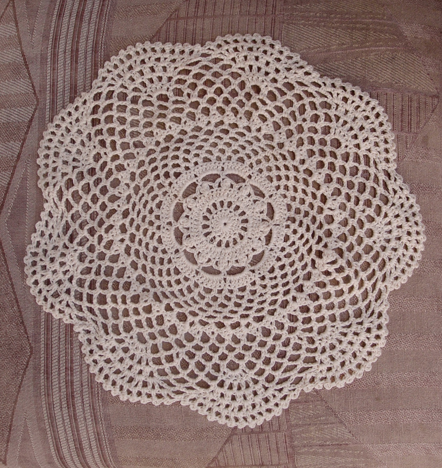 "Cotton Doilies Lovely 12"" Round Shaped Handmade Cotton Crochet Doilies Beige Of Brilliant 44 Photos Cotton Doilies"