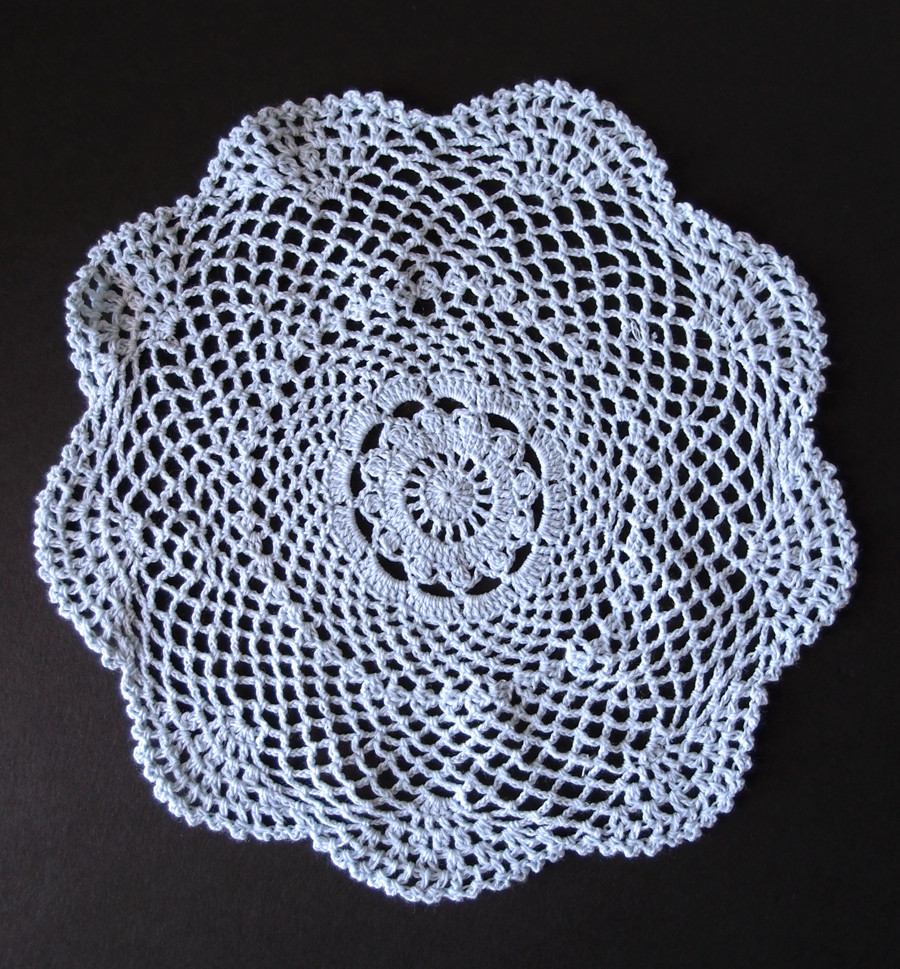 "Cotton Doilies Luxury 12"" Round Shaped Handmade Cotton Crochet Doilies White Of Brilliant 44 Photos Cotton Doilies"