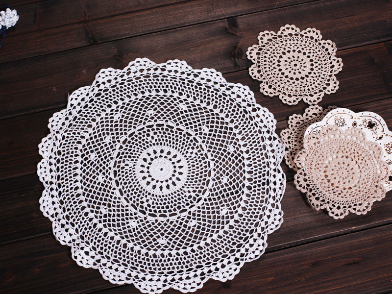 cotton crochet lace doilies [4011] Wholesale