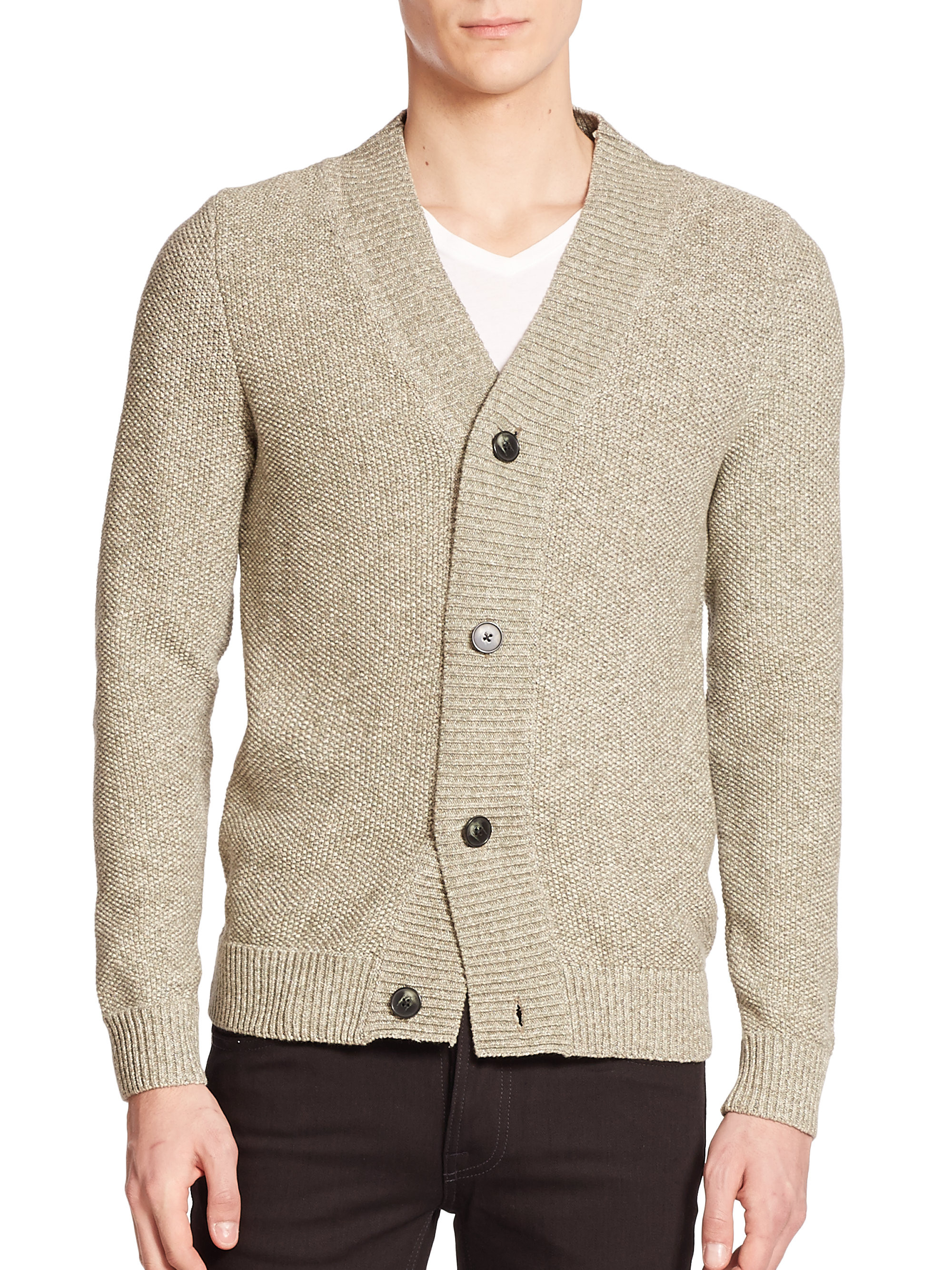 Cotton Knit Lovely Lyst Jndeberg Knit Cotton Cardigan In Natural for Men Of Marvelous 41 Ideas Cotton Knit