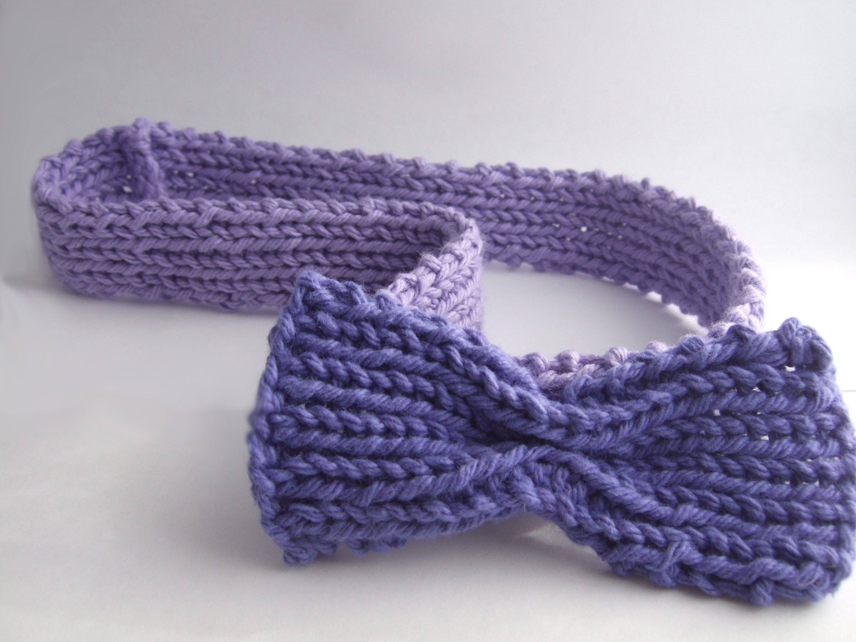 Knit Your Own Cute Headbands Tutorial by featured guest