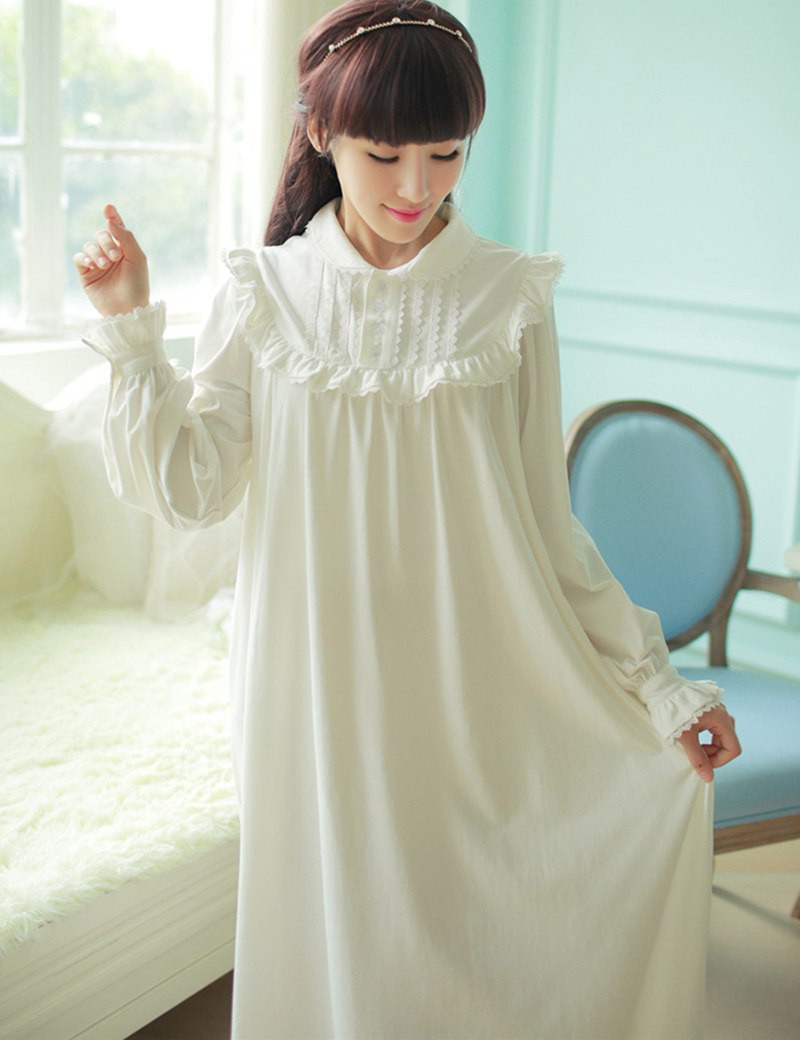 Cotton Knit Nightgown Promotion Shop for Promotional