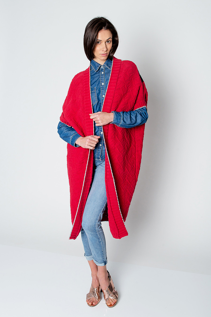 Cotton Knit New Knit Cotton Red Cardigan — Hay Hay Of Marvelous 41 Ideas Cotton Knit