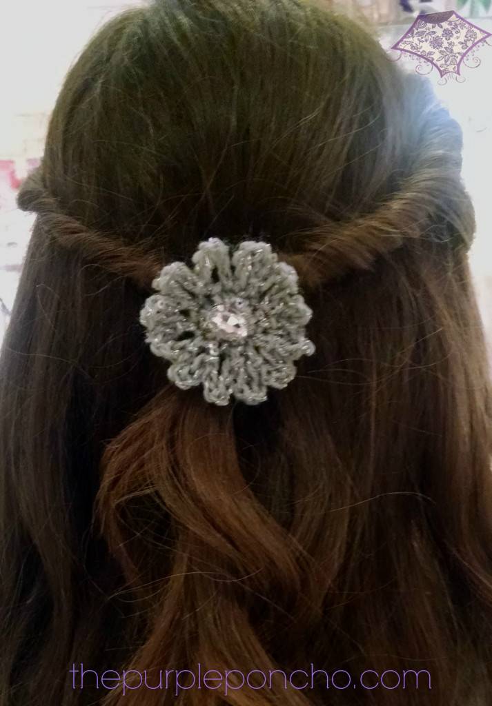 Crochet Accessories Fresh Sparkle Flower Hair Accessory A Free Crochet Pattern – the Of New 47 Photos Crochet Accessories