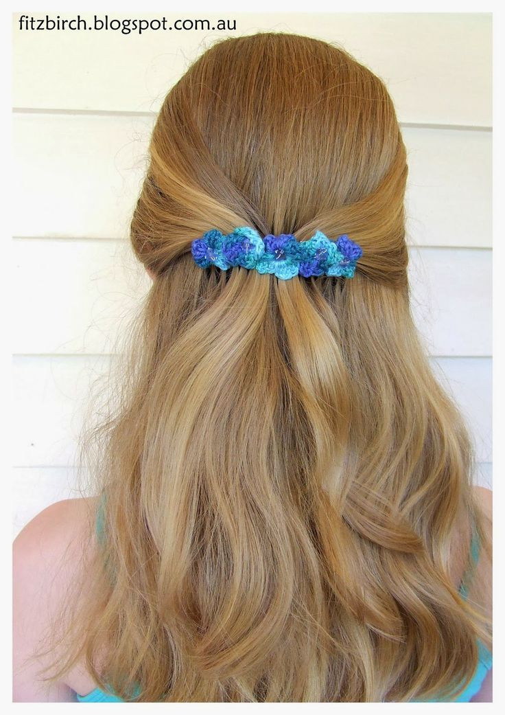 Crochet Accessories New 30 Best Images About Hair Clips On Pinterest Of New 47 Photos Crochet Accessories