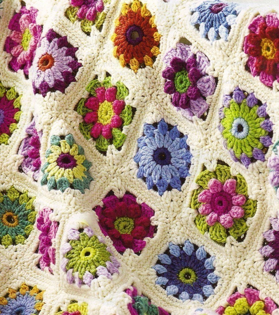 FREE CROCHET ROSE AFGHAN PATTERN Crochet — Learn How to