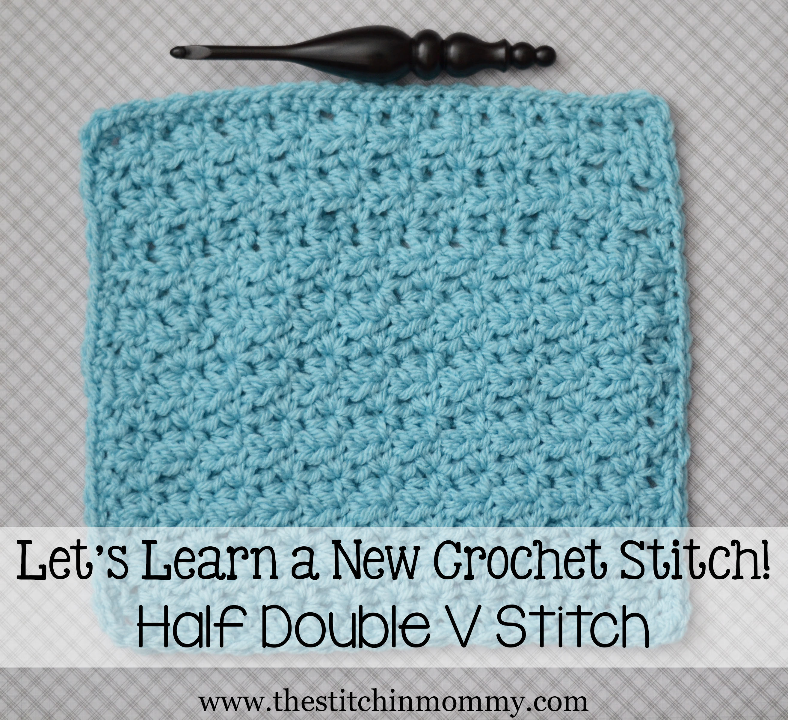 Crochet Afghan Stitch Best Of Half Double V Stitch Tutorial and Afghan Square Of Attractive 40 Ideas Crochet Afghan Stitch