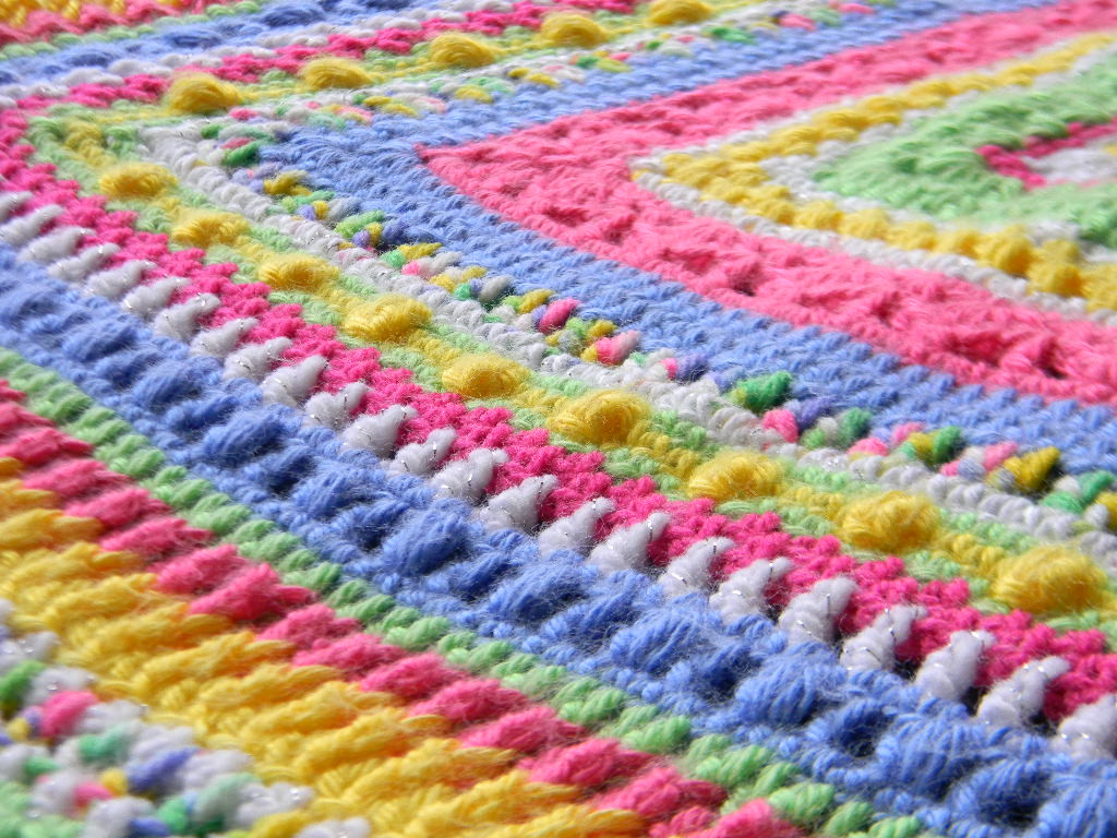 Crochet Afghan Stitch Inspirational Bizzy Crochet Faeries Sampler Baby Afghan Pattern Of Attractive 40 Ideas Crochet Afghan Stitch