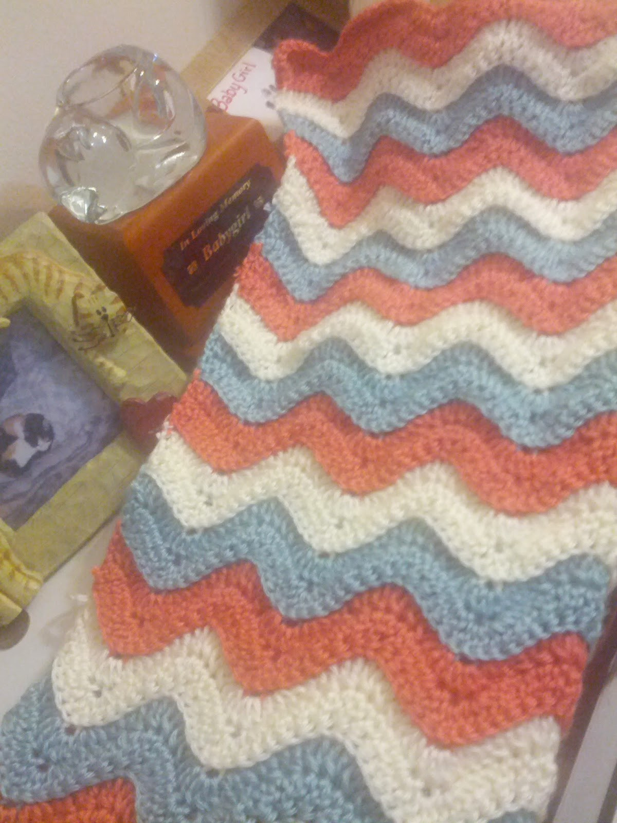 Crochet Afghan Stitch New Reversible Ridged Ripple Crochet Baby Blanket Of Attractive 40 Ideas Crochet Afghan Stitch