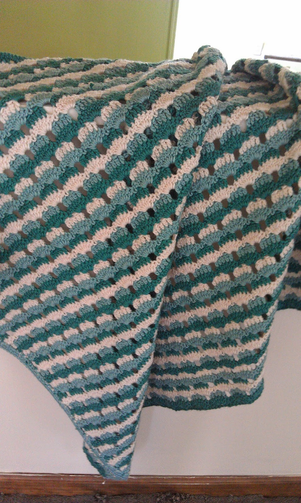 Crochet Afghan Stitch New Shells & Stripes Crochet Pattern Of Attractive 40 Ideas Crochet Afghan Stitch