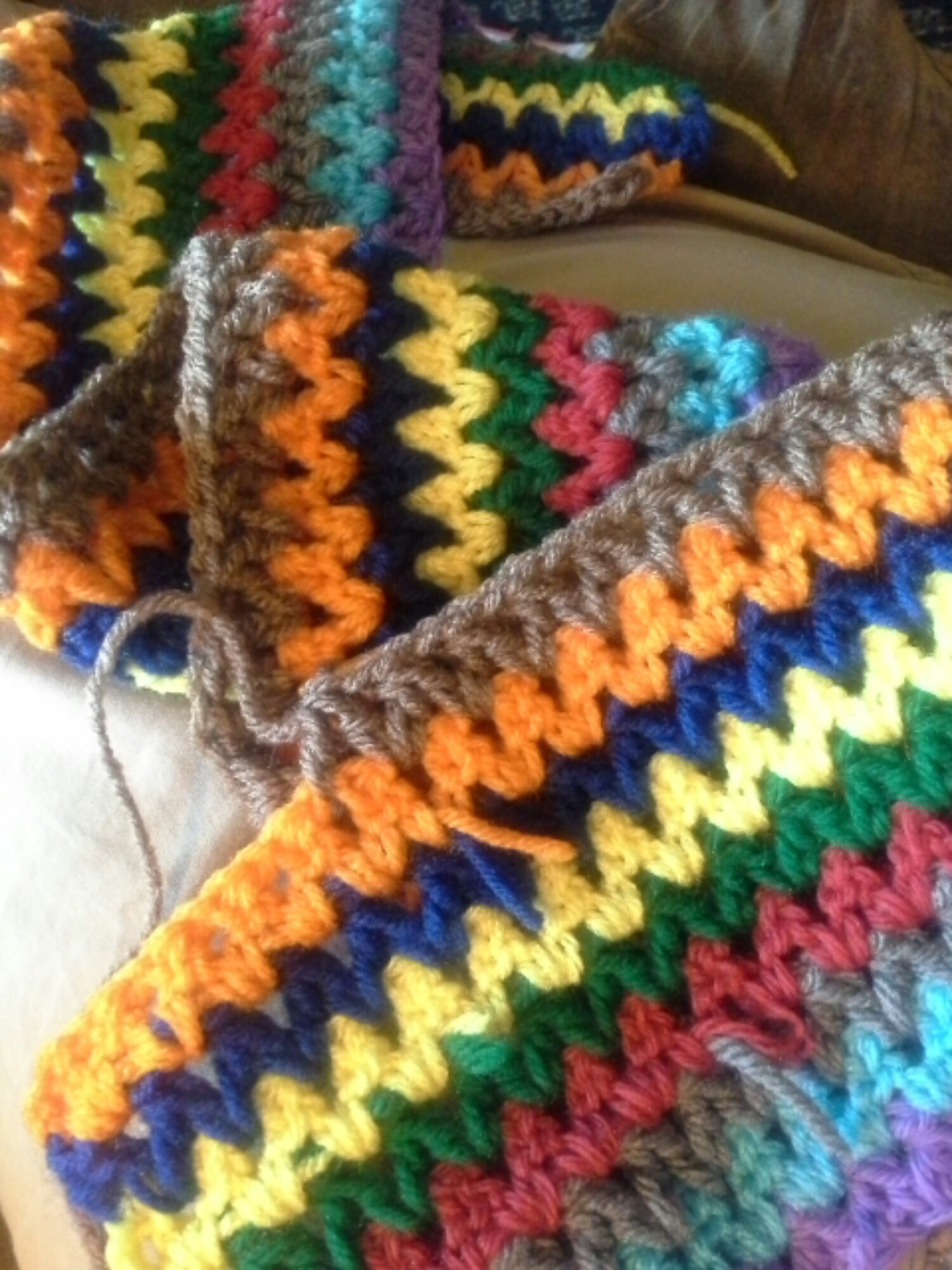Crochet Afghan Stitch New V Stitch Crochet Afghan – the Sparkly toad Of Attractive 40 Ideas Crochet Afghan Stitch