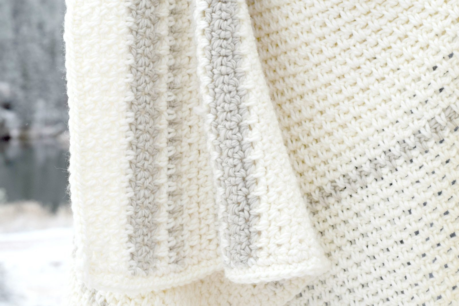 Mod Heirloom Crochet Blanket Pattern – Mama In A Stitch