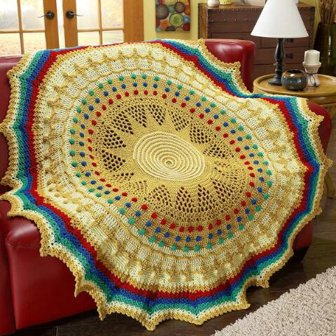 Crochet Afghans for Sale Beautiful Red Heart Treasures Of the Sun King Crochet Afghan Kit Of Luxury 41 Ideas Crochet Afghans for Sale