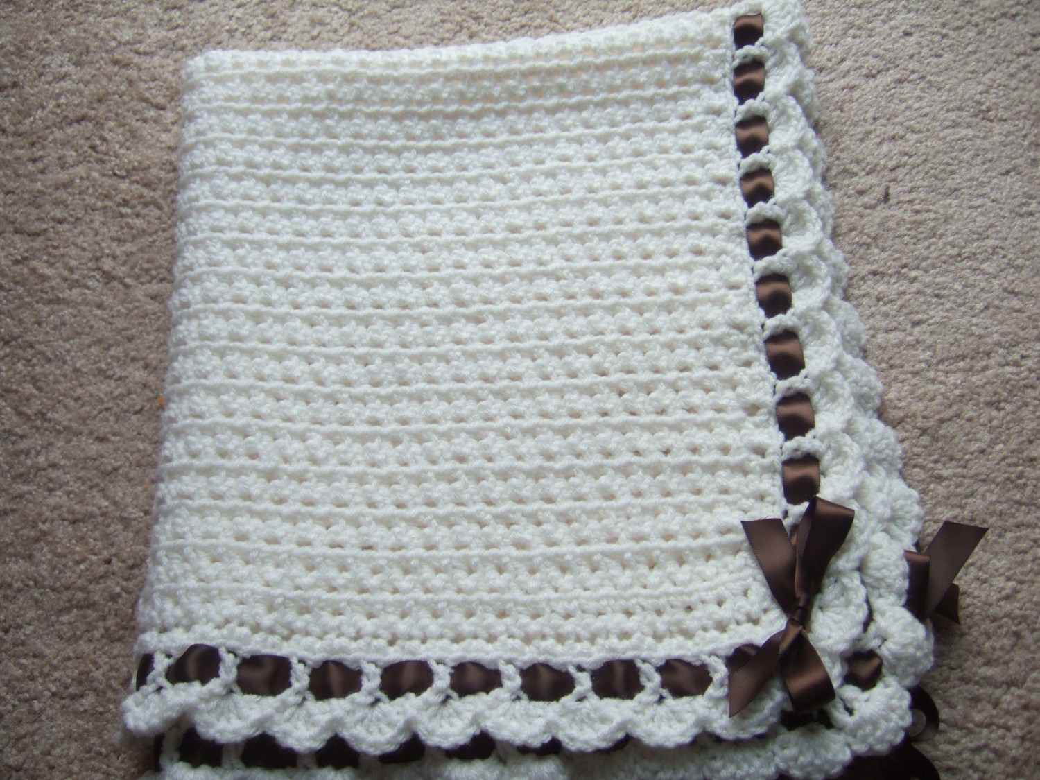 Hand Crochet Baby Blankets For Sale