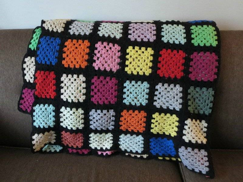 Crochet Afghans for Sale Luxury Hand Crocheted Knitted Afghan Throw Blanket Granny Squares Of Luxury 41 Ideas Crochet Afghans for Sale