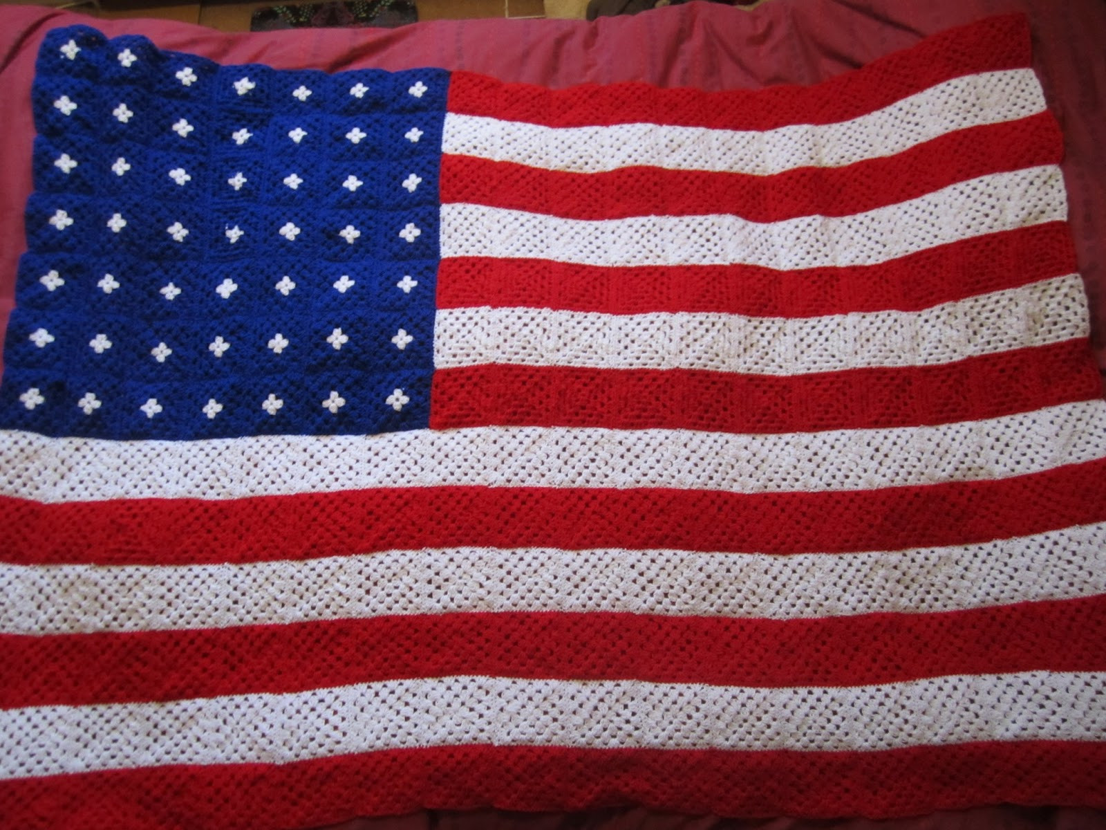 Crochet American Flag Elegant Crochet Cooking and Craft Crochet American Flag Blanket Of Incredible 44 Pics Crochet American Flag