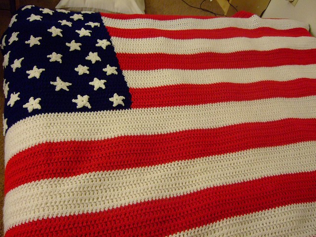 Crochet American Flag Elegant [free Pattern] Happy 4th Of July Crochet An American Flag Of Incredible 44 Pics Crochet American Flag