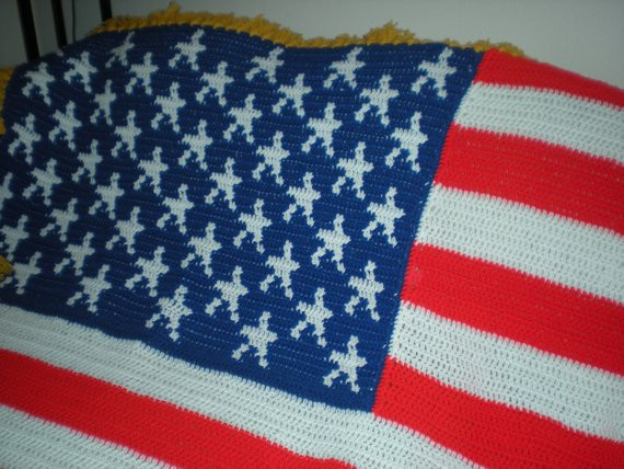 Crochet American Flag Lovely American Flag Afghan Blanket Crochet Of Incredible 44 Pics Crochet American Flag