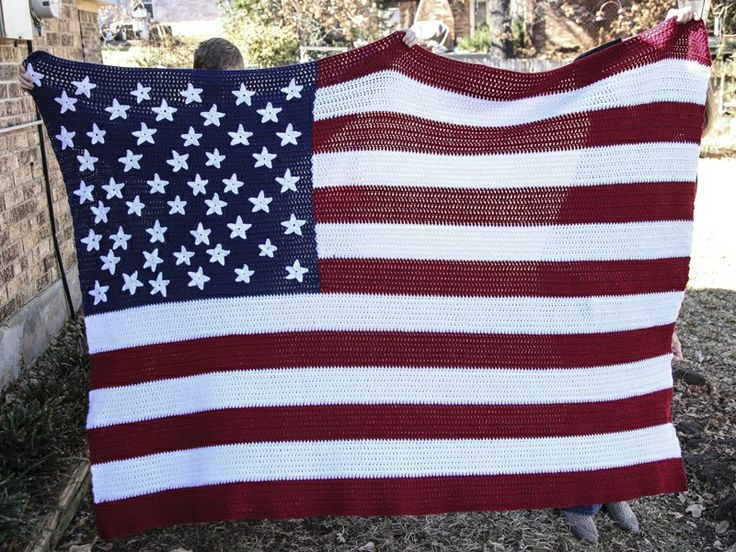 Crochet American Flag Luxury 19 Best Images About Crochet American Flags On Pinterest Of Incredible 44 Pics Crochet American Flag