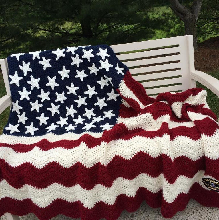 Crochet American Flag New Free Pattern Friday Want some Stripes with Those Stars Of Incredible 44 Pics Crochet American Flag