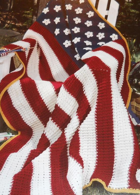Crochet American Flag Unique America the Beautiful by Conniescrogift9 Craftsy Of Incredible 44 Pics Crochet American Flag