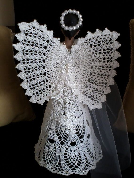 Crochet Angel Pattern Awesome 1000 Images About Ange En Crochet On Pinterest Of Brilliant 43 Pictures Crochet Angel Pattern