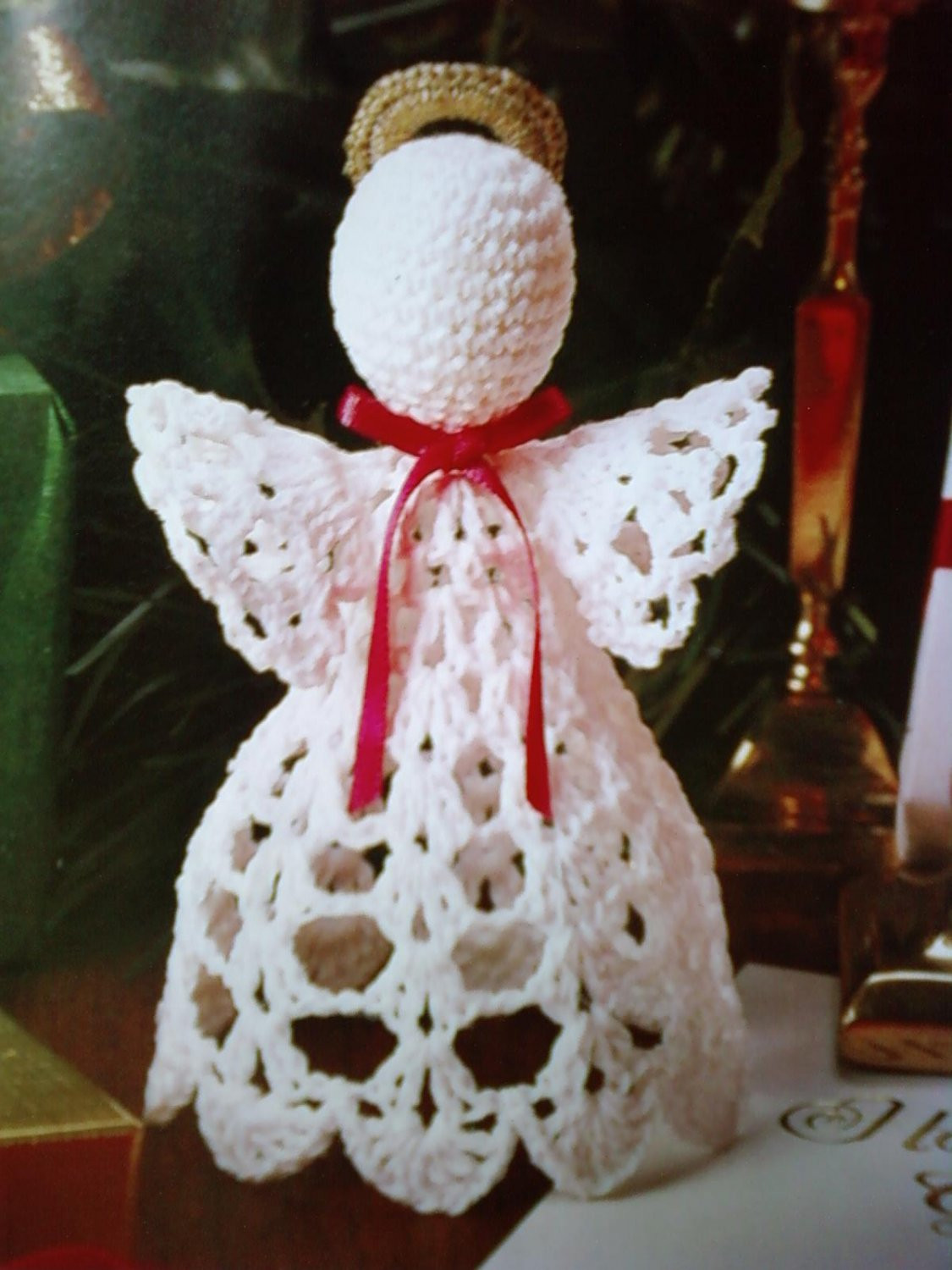 Crochet Angel Pattern Beautiful L K Lovely Christmas Angel New Crochet Pattern Of Brilliant 43 Pictures Crochet Angel Pattern