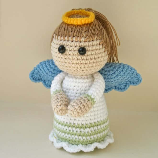 Crochet Angel Pattern Elegant Lovely Angel Crochet Pattern Amigurumi today Of Brilliant 43 Pictures Crochet Angel Pattern
