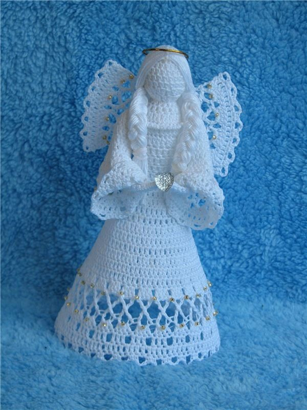 Crochet Angel Pattern Inspirational 303 Best Images About Crochet Angels On Pinterest Of Brilliant 43 Pictures Crochet Angel Pattern