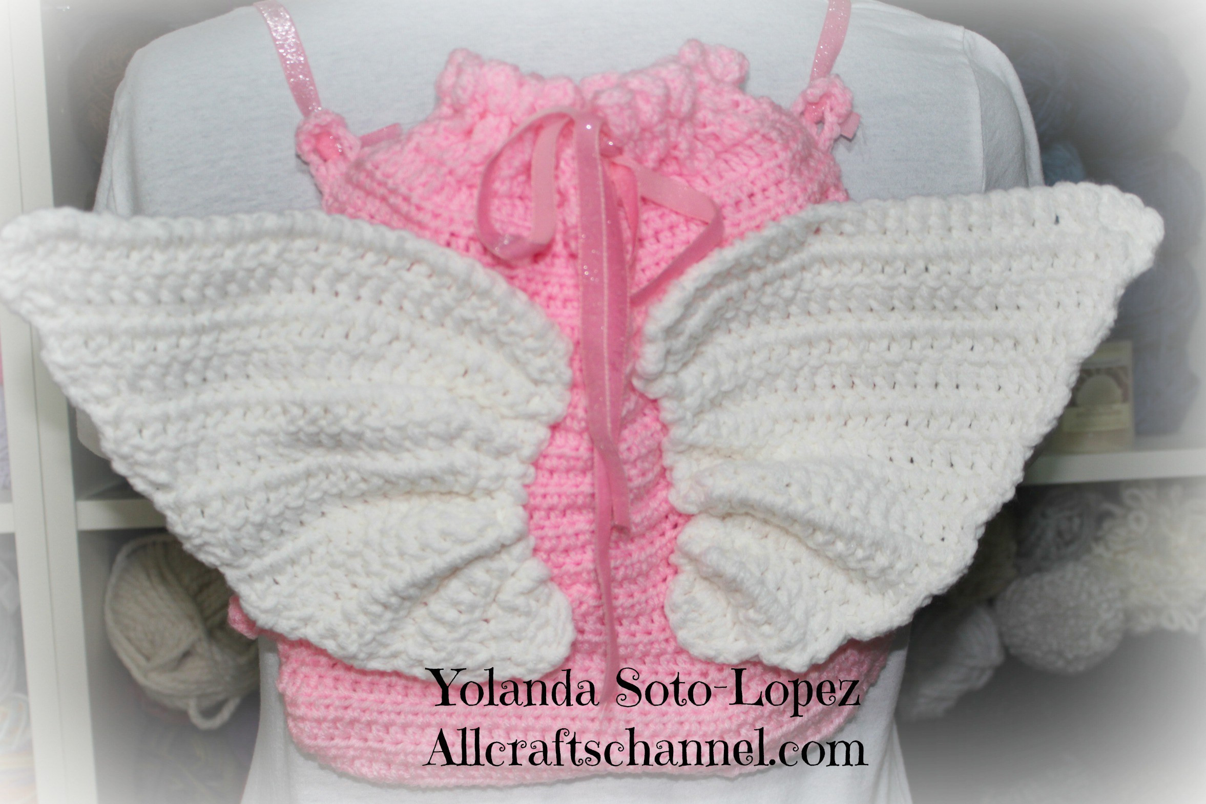 Crochet Angel Wings Best Of Crochet Angel Wings Backpack All Crafts Channel Of Charming 49 Images Crochet Angel Wings