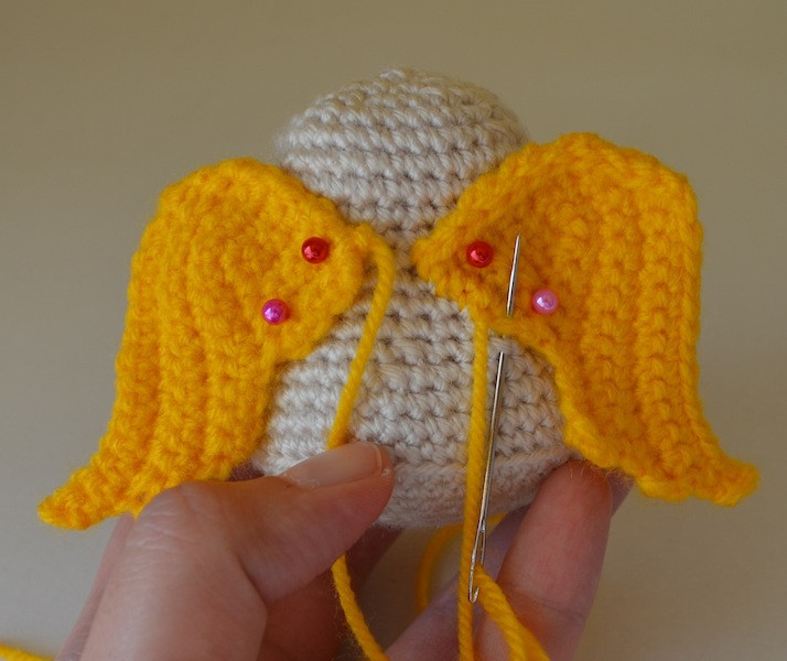 Kim Lapsley Crochets The Cranky Angel
