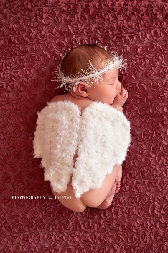 Crochet Angel Wings Luxury Crochet Angel Wings Halonewborn Photography Prop Baby Photo Of Charming 49 Images Crochet Angel Wings