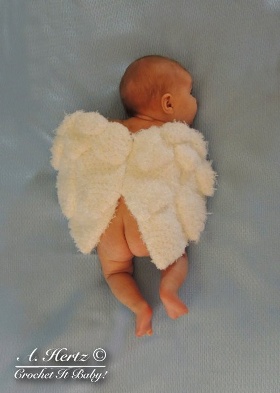 Crochet Angel Wings New Crochet Angel Wings Cover Prop Newborn Pattern Only Of Charming 49 Images Crochet Angel Wings