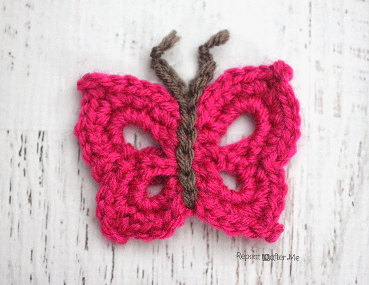 Crochet Applique New B is for butterfly Crochet butterfly Applique Repeat Of Marvelous 47 Images Crochet Applique