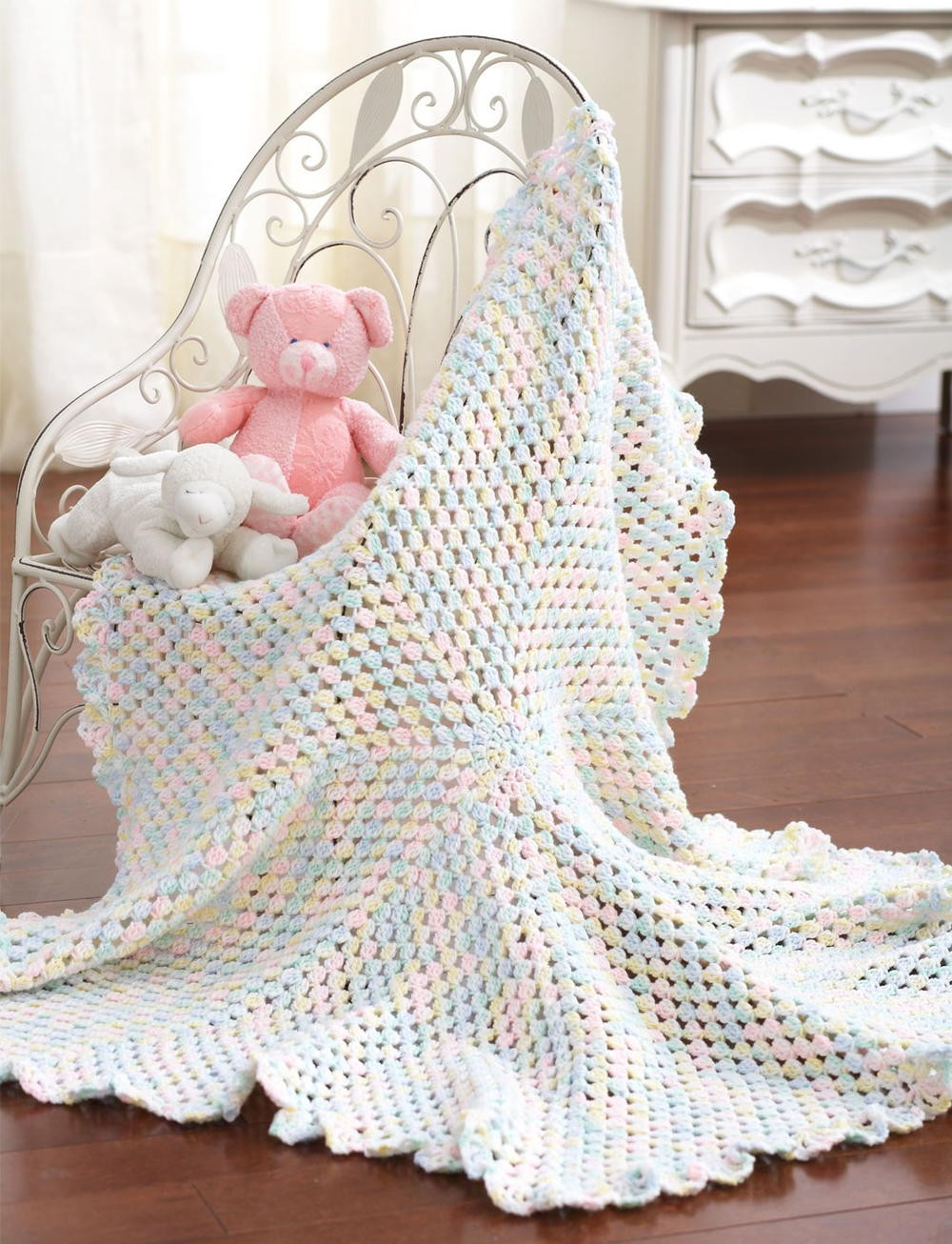 Crochet Baby Afghan Unique Marshmallow Baby Blanket Of Top 41 Models Crochet Baby Afghan