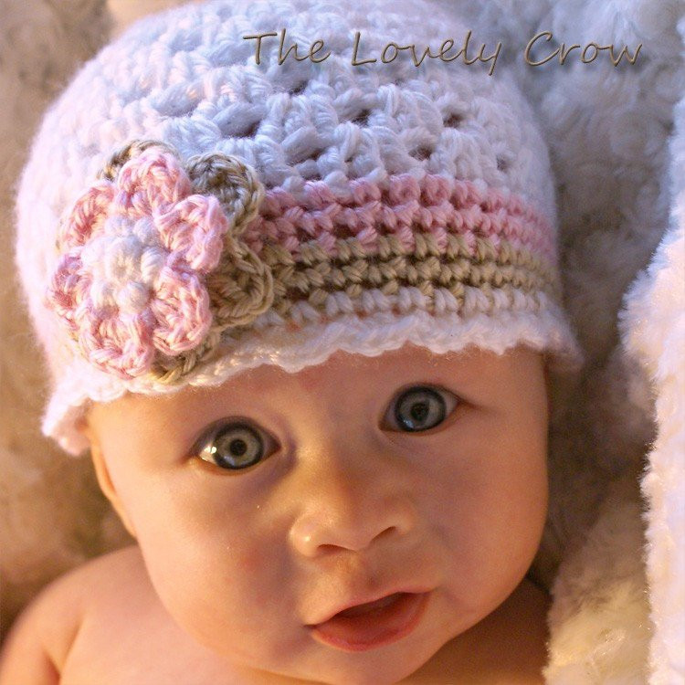 Crochet Baby Beanie Fresh Baby Girl Hat Crochet Pattern for Ebeth S Princess Beanie Of Beautiful 46 Pictures Crochet Baby Beanie