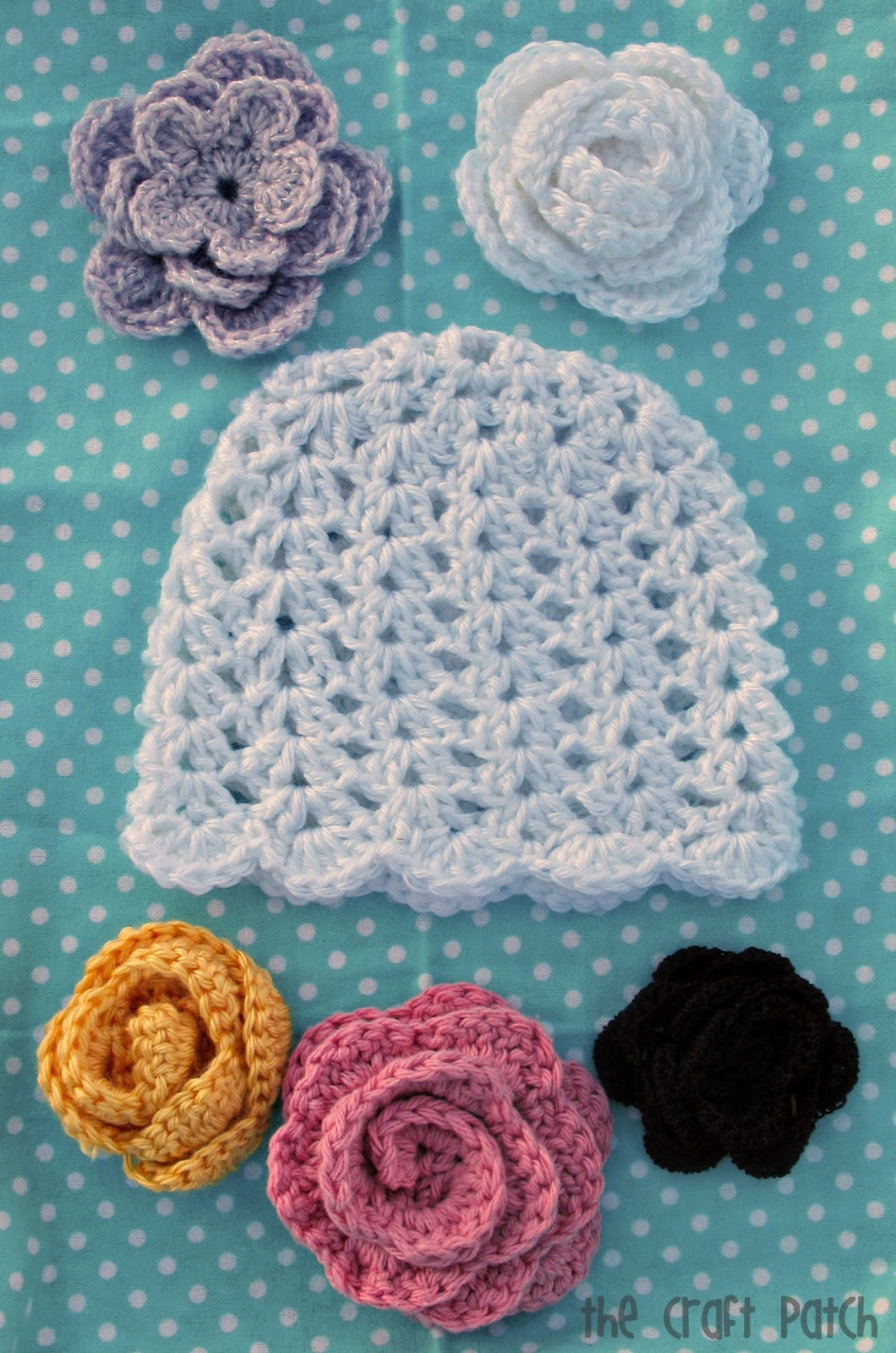 Crochet Baby Beanie Inspirational the Craft Patch Lacy Crochet Baby Beanie Of Beautiful 46 Pictures Crochet Baby Beanie