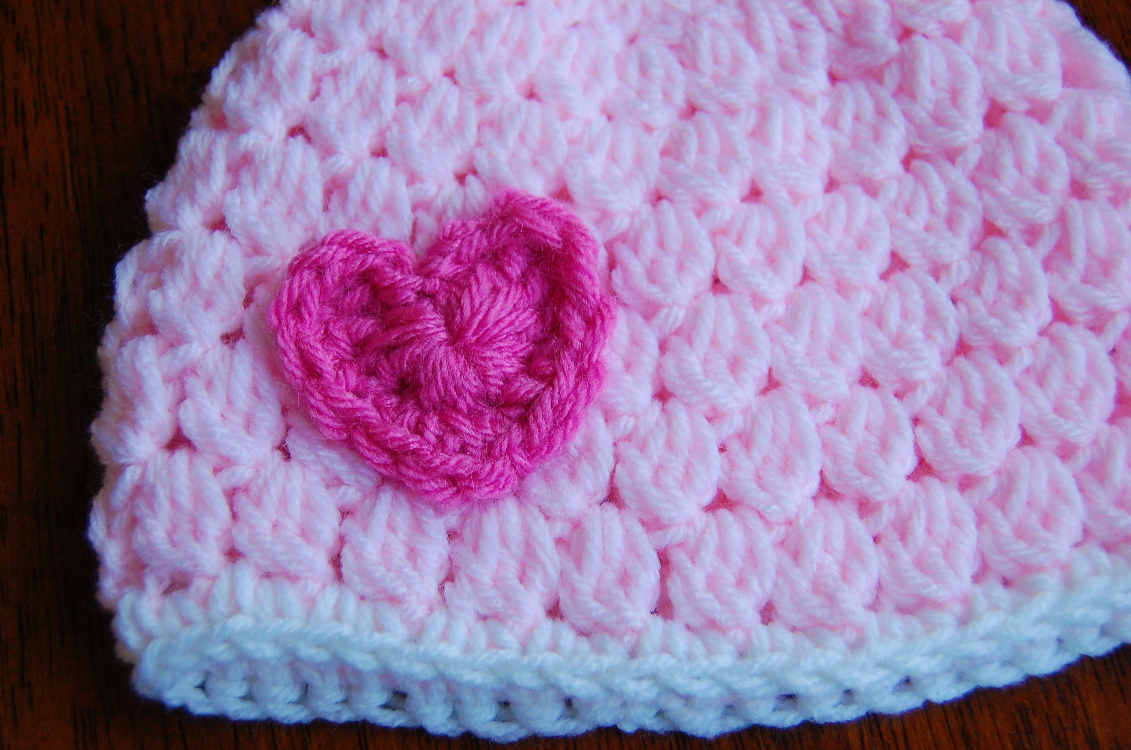 Crochet Baby Beanie Unique Free Girl S Crochet Hat Pattern with Heart Of Beautiful 46 Pictures Crochet Baby Beanie