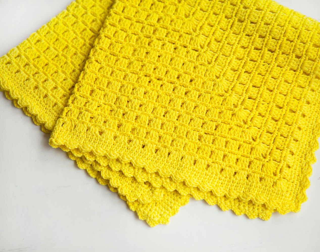 Beginner Crochet Patterns Baby Blanket
