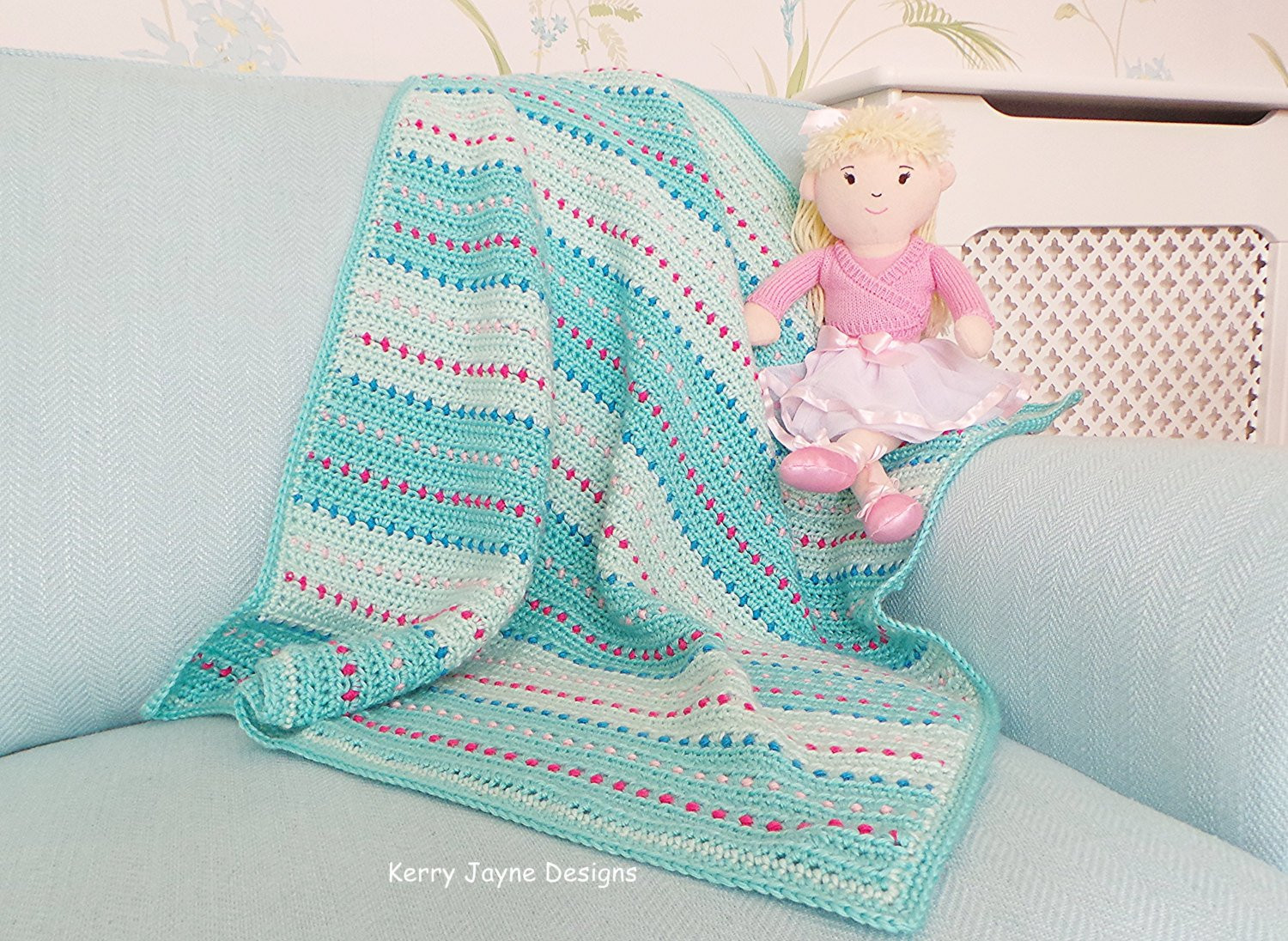 Crochet Baby Blanket Patterns for Beginners Unique Crochet Baby Blanket Pattern Dinky Dot Pattern Quick Baby Of Innovative 45 Pics Crochet Baby Blanket Patterns for Beginners