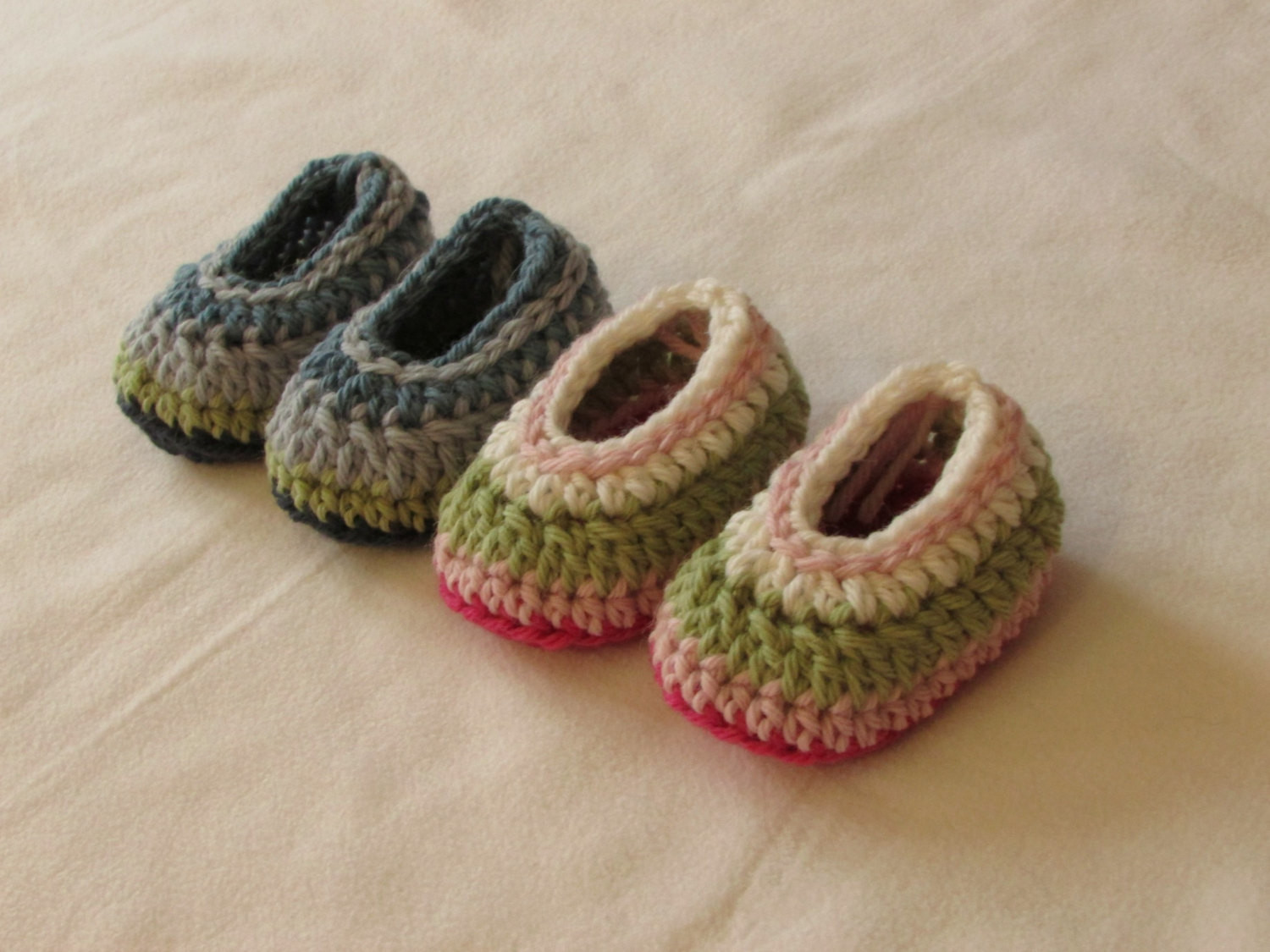 Crochet Baby Booties Luxury Crochet Simple Striped Baby Booties Shoes Written Pattern Of Crochet Baby Booties Fresh Crochet Baby Mary Jane Booties Free Patterns