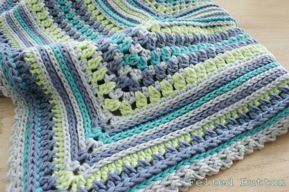 Crochet Baby Boy Blanket Awesome Felted button Colorful Crochet Patterns Ahhh the Of Top 46 Pictures Crochet Baby Boy Blanket