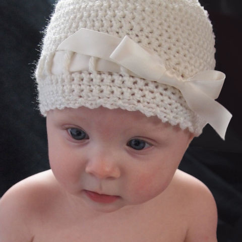 Crochet Baby Cap Awesome Baby Girl Flapper Hat with Flower Newborn Baby Grace Hats Of Wonderful 43 Images Crochet Baby Cap