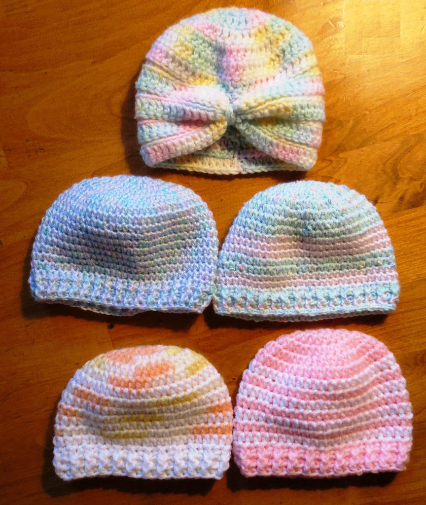Crochet Baby Cap Awesome More Crocheted Baby Hats Of Wonderful 43 Images Crochet Baby Cap