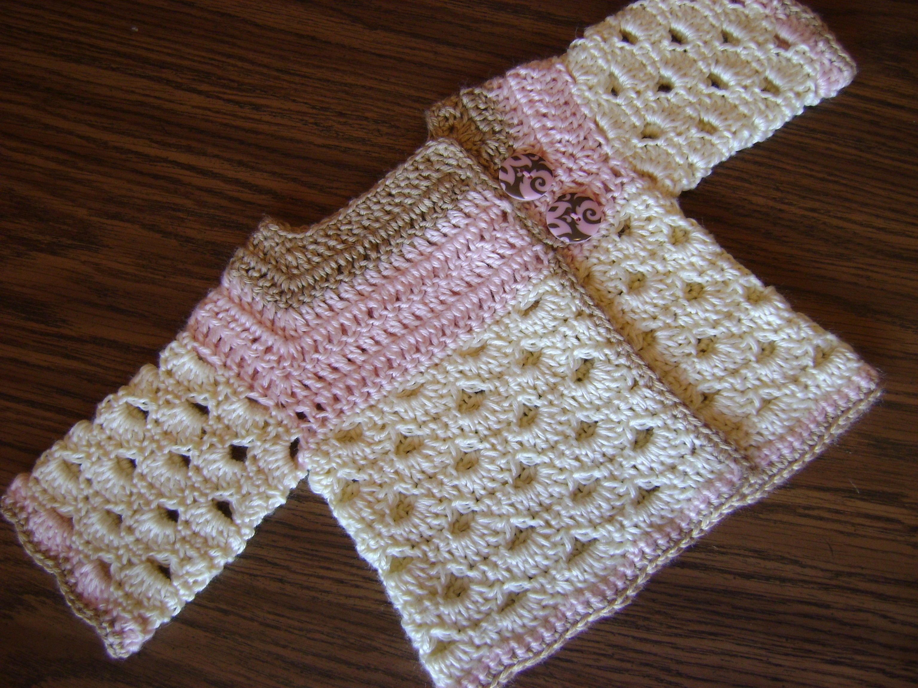 free crochet baby pattern sweater cardigan newborn