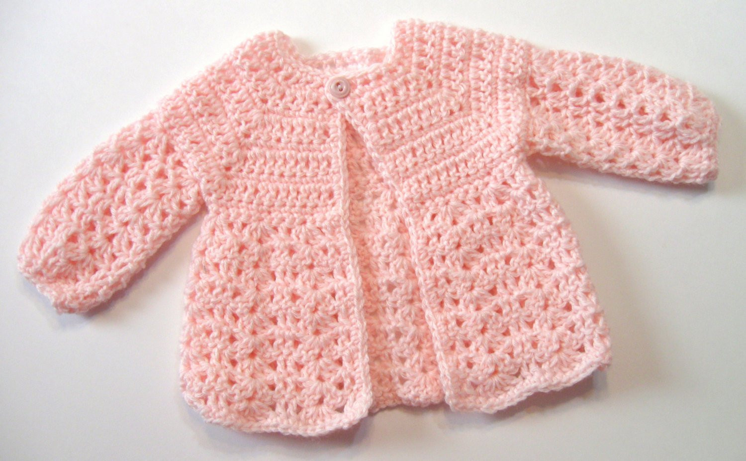 Crochet Baby Cardigan Inspirational Crochet Pattern Baby Sweater Perfect for Girls Oma S Of Amazing 49 Pics Crochet Baby Cardigan
