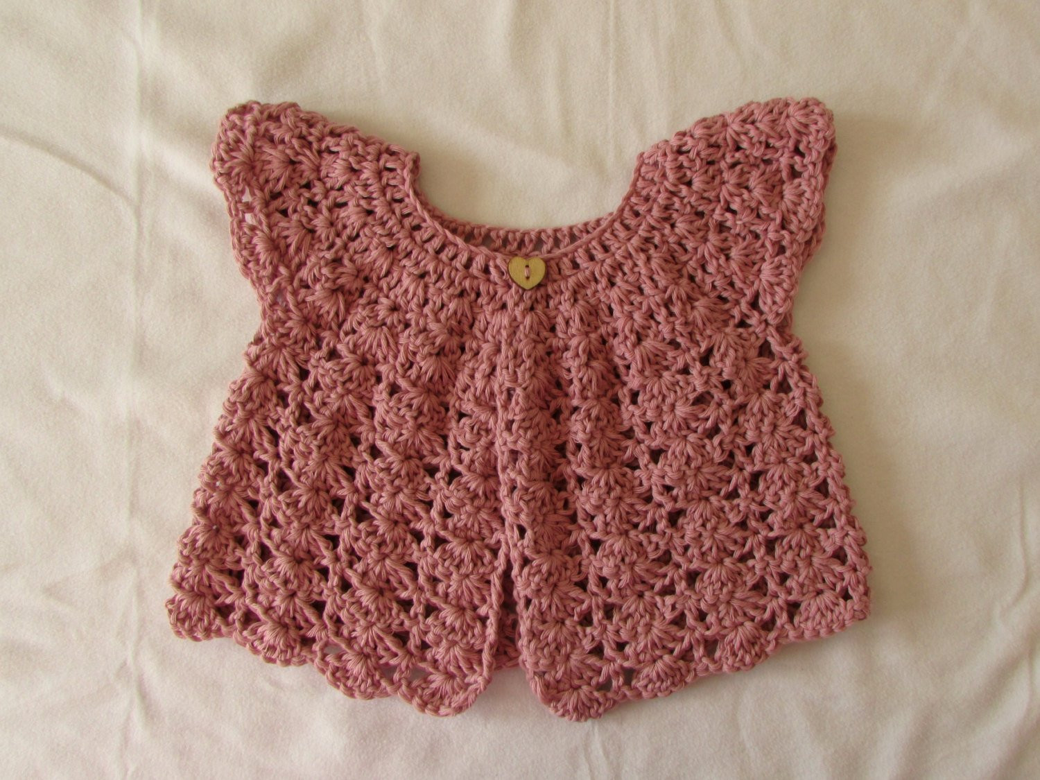 Crochet Baby Cardigan Luxury Crochet Shell Stitch Baby Girl S Cardigan Written Of Amazing 49 Pics Crochet Baby Cardigan