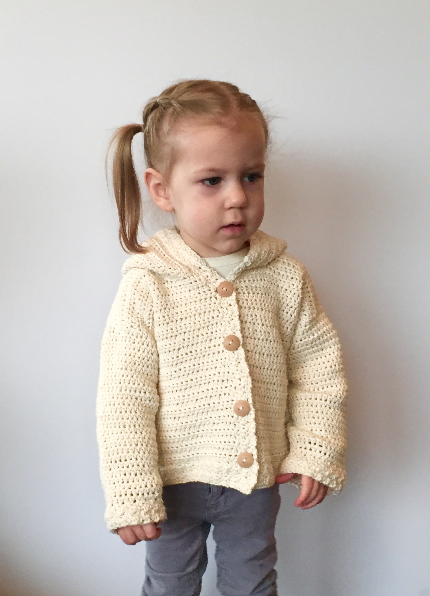 Crochet Baby Cardigan Luxury Lamb S Ear Baby Cardigan Crochet Pattern Of Amazing 49 Pics Crochet Baby Cardigan