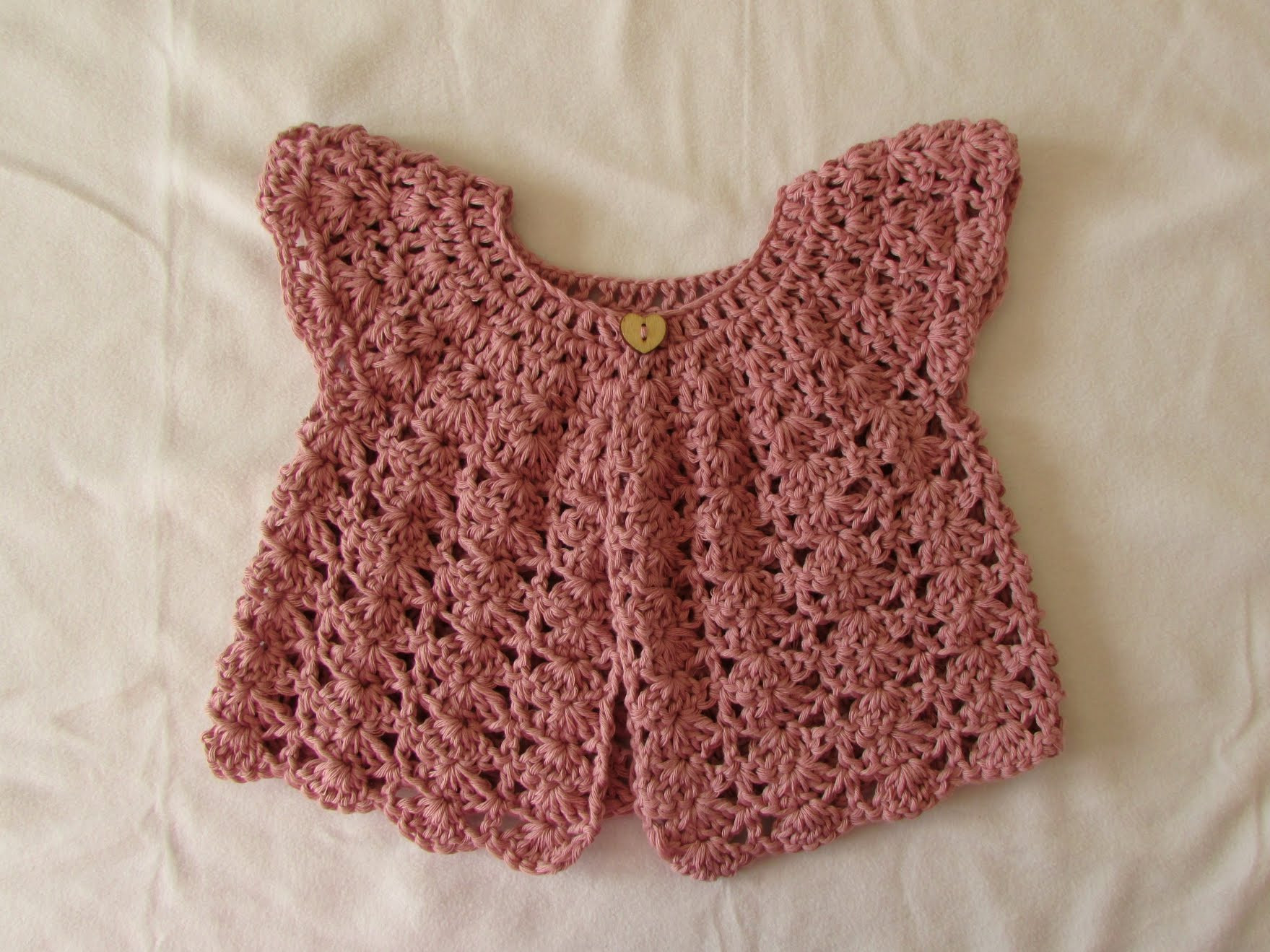 baby crochet sweater