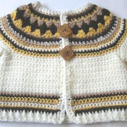 Crochet Baby Cardigan Pattern Luxury Crochet Pattern for Baby Cardigan Jacket Sweate Folksy Of Luxury 44 Pictures Crochet Baby Cardigan Pattern